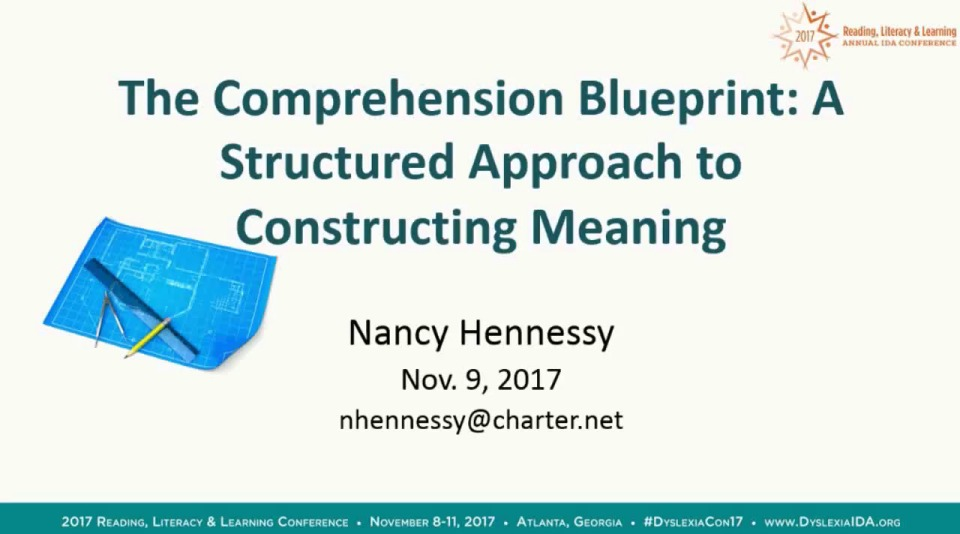 The comprehension blueprint a structured approach to constructing the comprehension blueprint a structured approach to constructing meaning malvernweather Gallery